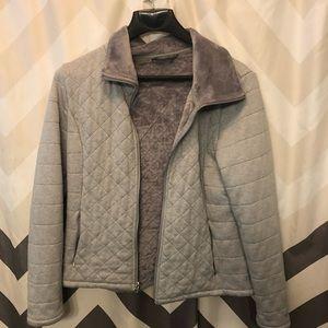 Size XL Grey North Face jacket
